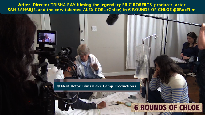 Actor Eric Roberts in Next Actor Film 6 ROUNDS OF CHLOE